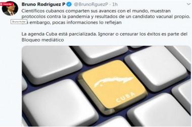 Denuncian silencio mediático sobre aportes de Cuba contra Covid-19
