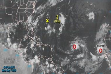 Imagen del satélite
