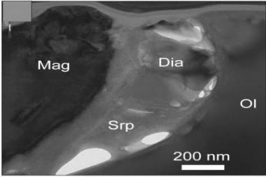 Descubren nanodiamantes en rocas al Oriente de Cuba