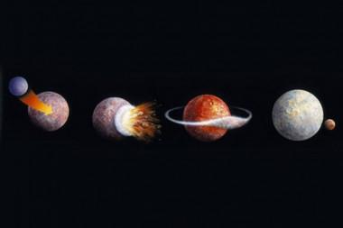Revelan nuevas evidencias del proceso de formación de la Luna