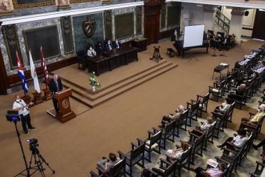 Aula Magna de la Universidad de La Habana. Foto: Ariel Cecilio Lemus.
