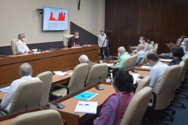Reunión del grupo temporal para la prevención y control del nuevo coronavirus