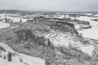 Deslizamiento en Noruega: dura lección