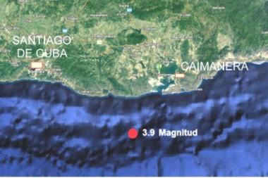 Epicentro del terremoto de enero 2021 en Cuba oriental