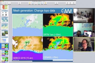 Software de modelación de tsunamis