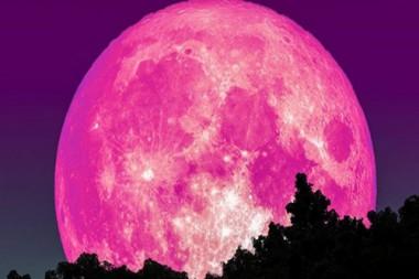 La superluna rosa durará tres días a partir de este 26 de abril