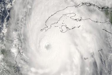 Ciclón. Imagen tomada de cubadebate.cu