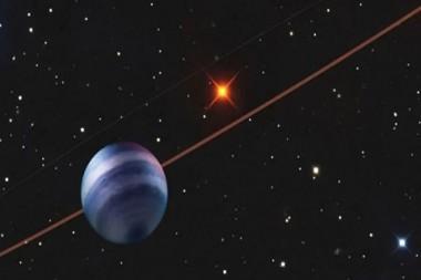 COCONUTS-2b, segundo exoplaneta fotografiado más frío que se conoce hasta la fecha.   Foto: UHS