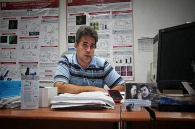 Kalet León Monzón, director adjunto y de Investigación y Desarrollo del CIM. Foto: ACN
