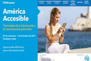 """Imagen alegórica al evento """" América Accesible"""""""