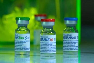 Vacunas cubanas Soberanas