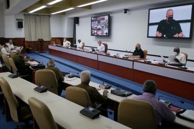 Reunión del Consejo de Ministros. Foto: Estudios Revolución.