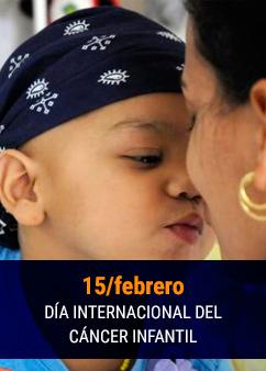 Cartel alegórico al  15 de febrero, Día Internacional del Cáncer Infantil