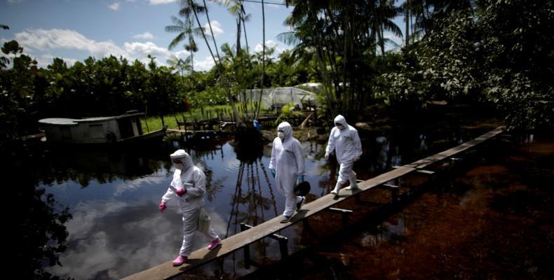 Latinoamérica y el Caribe es la zona mundial con más muertes por la pandemia