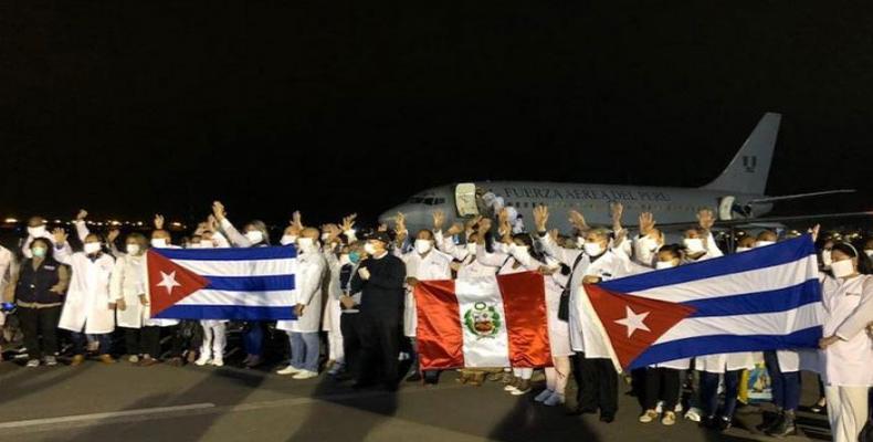 Brigada médica cubana