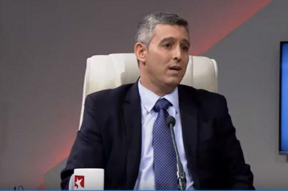 El ministro de Comunicaciones Jorge Luis Perdomo Di-Lella