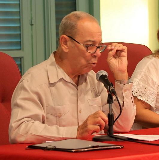 Juan Valdés Paz, Premio Nacional de Ciencias Sociales 2014. Foto: Juvenal Balán