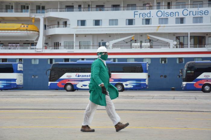 Viajeros del MS Braemar ya se encuentran listos y seguros para regresar a casa desde Cuba Foto: Ricardo López Hevia
