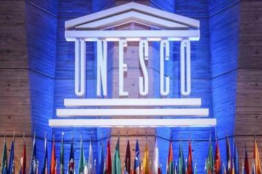 Cartel alegórico a la UNESCO