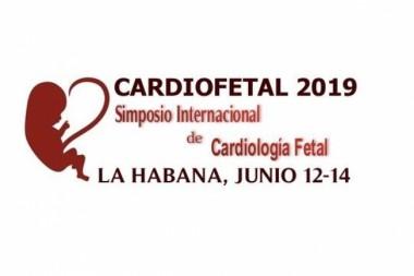 Cartel alegórico al Simposio Internacional de Cardiología Fetal