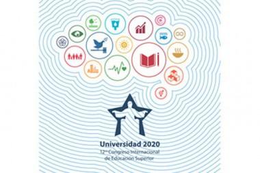 Cartel alegórico al Congreso Internacional Universidad 2020
