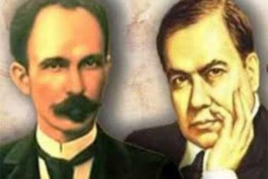 José Martí y Rubén Darío